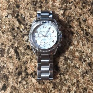 LOW PRICE Michael Kors Silver Watch SEE PICS